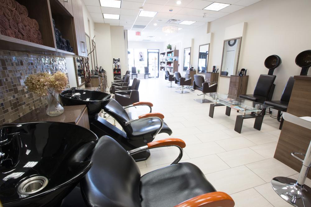 Our salon sensation salon and spa for A touch above salon